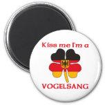 Alemanes personalizada me besan que soy Vogelsang Imán Para Frigorifico