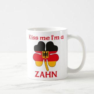 Alemanes personalizada me besan que soy Zahn Tazas De Café