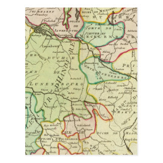 Alemania 16 postal