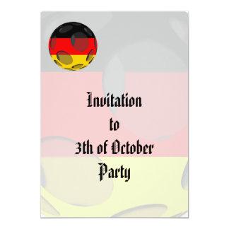 Alemania #1 invitación personalizada