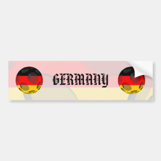 Alemania #1 pegatina para auto