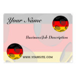 Alemania #1 tarjetas de visita grandes