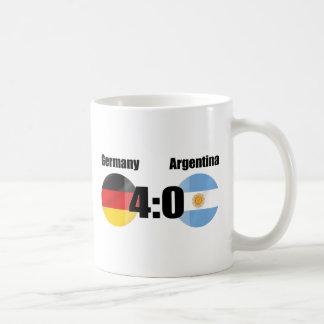 Alemania 4 la Argentina 0 Taza De Café