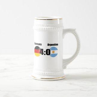 Alemania 4 la Argentina 0 Tazas De Café