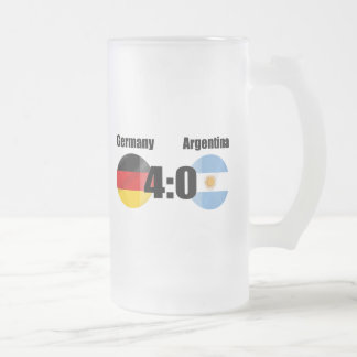 Alemania 4 la Argentina 0 Taza