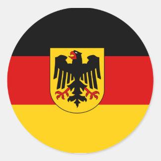 Alemania, Alemania Pegatina Redonda