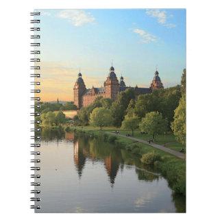 Alemania, Aschaffenburg, Schloss (castillo) Libros De Apuntes Con Espiral