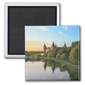 Alemania, Aschaffenburg, Schloss (castillo) Imán Cuadrado