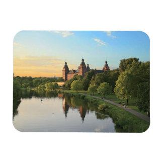 Alemania, Aschaffenburg, Schloss (castillo) Imán Foto Rectangular