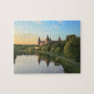 Alemania, Aschaffenburg, Schloss (castillo) Puzzle