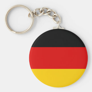 Alemania - bandera nacional alemana llavero redondo tipo pin