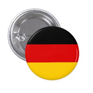 Alemania bandera pin redondo de 1 pulgada