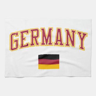Alemania + Bandera Toallas De Cocina