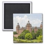 Alemania, Baviera, Baviera, Aschaffenburg. Schloss Imán Cuadrado