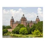 Alemania, Baviera, Baviera, Aschaffenburg. Schloss Tarjeta Postal
