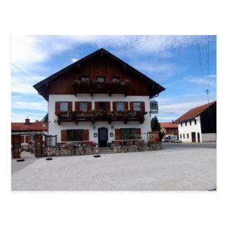 Alemania, Baviera, casa en el centro del pueblo Postales