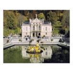 Alemania, Baviera, castillo de Linderhof. Linderho Fotografia