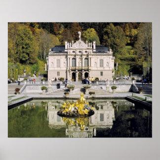 Alemania, Baviera, castillo de Linderhof. Linderho Impresiones