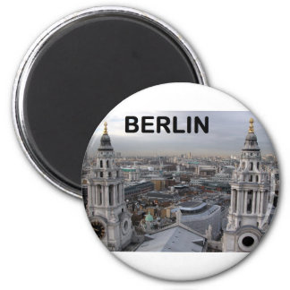 Alemania Berlín (Kan.K) Imán Redondo 5 Cm