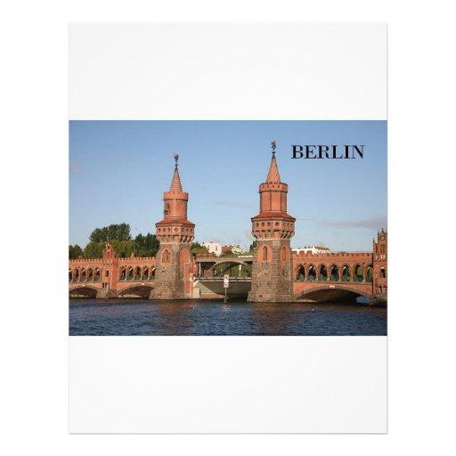 Alemania Berlín Oberbaumbrucke (St.K.) Membrete