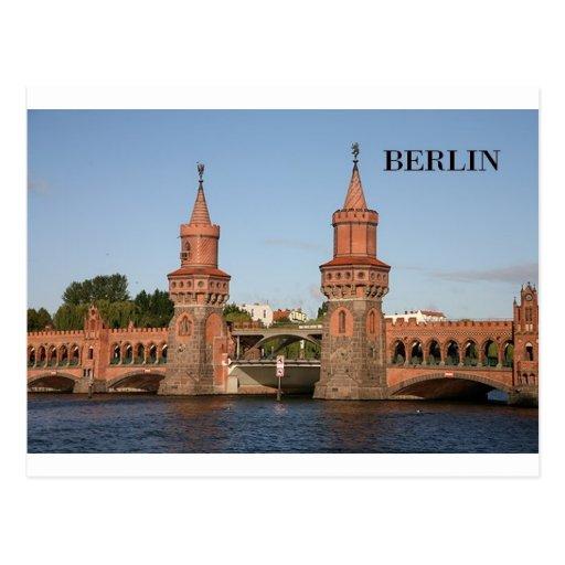Alemania Berlín Oberbaumbrucke (St.K.) Postal