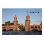Alemania Berlín Oberbaumbrucke (St.K.) Tarjeta Postal