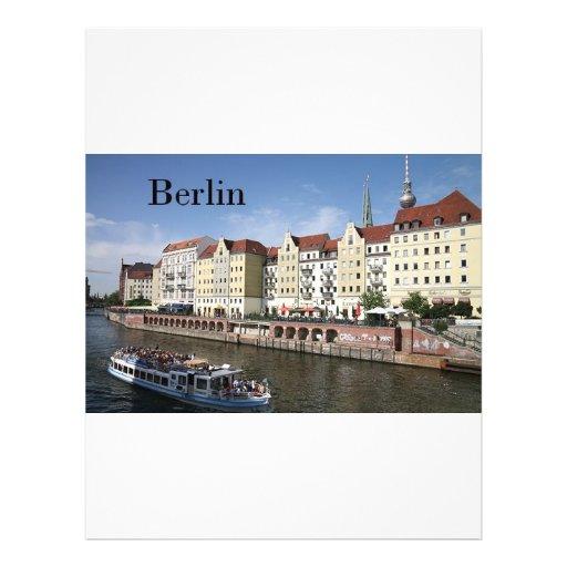 """Alemania Berlín (St.K) Folleto 8.5"""" X 11"""""""