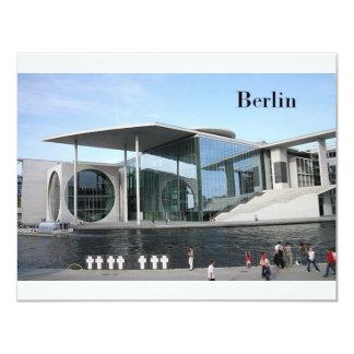 Alemania Berlín (St.K) Invitación 10,8 X 13,9 Cm