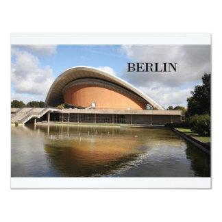 """Alemania Berlín (St.K) Invitación 4.25"""" X 5.5"""""""