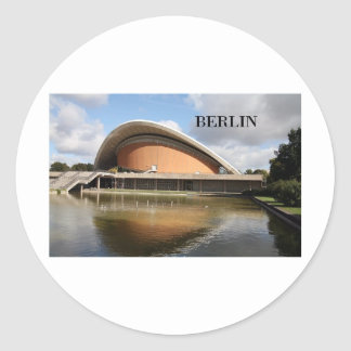 Alemania Berlín (St.K) Pegatina Redonda