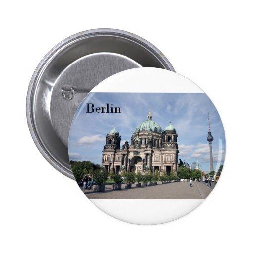 Alemania Berlín (St.K) Pin Redondo 5 Cm