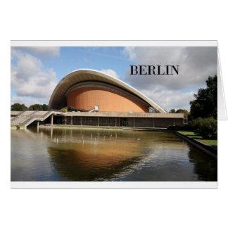 Alemania Berlín (St.K) Tarjeta De Felicitación