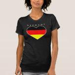 "Alemania corazón fútbol Shirt ""Germany """