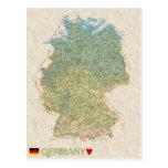 ♥ Alemania de las POSTALES del MAPA