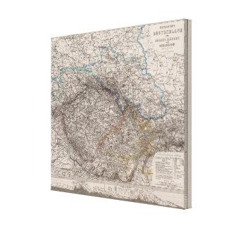 Alemania del este o Bohemia Impresiones En Lienzo Estiradas