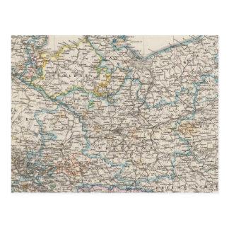 Alemania del noreste tarjeta postal