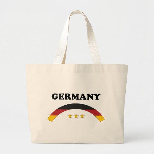 Alemania/Deutschland Bolsa Tela Grande