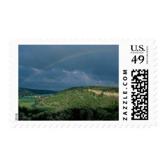Alemania, disco del cielo, edad de bronce, sello postal
