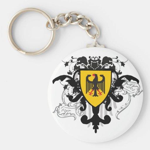 Alemania elegante llaveros