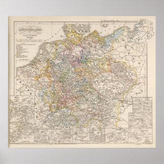 Alemania en ese entonces la guerra de 30 años póster