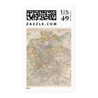 Alemania en ese entonces la guerra de 30 años sellos