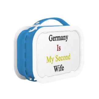 Alemania es mi segunda esposa