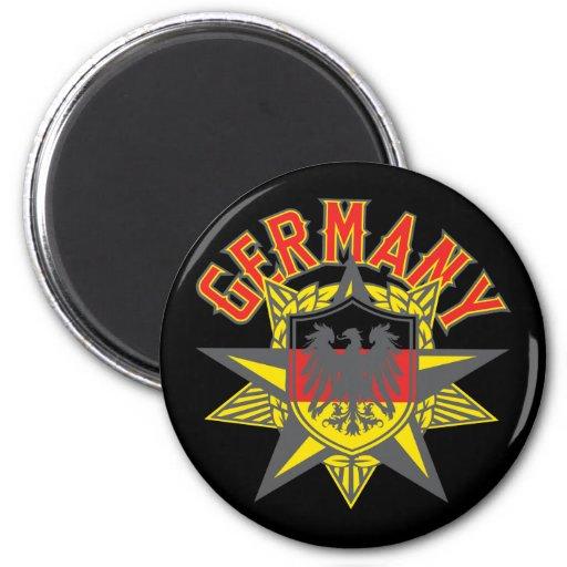 Alemania grande e intrépida iman para frigorífico
