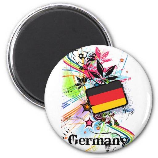 Alemania Imanes De Nevera