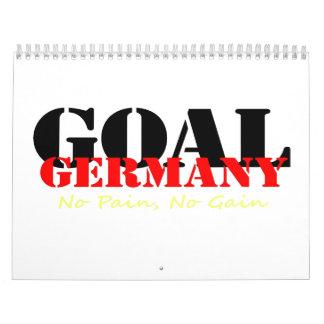 Alemania ningún dolor ningún aumento calendario de pared