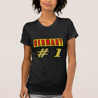 Alemania número 1 camisas