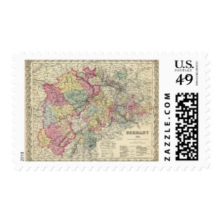 Alemania Occidental 2 Timbres Postales