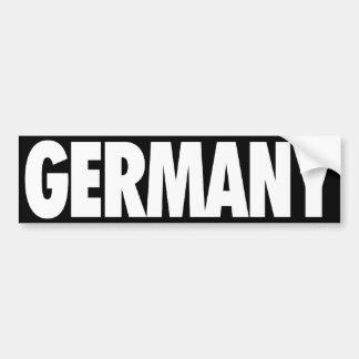 Alemania Pegatina Para Auto