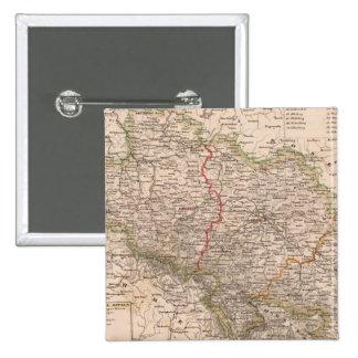 Alemania, Polonia Pin Cuadrado