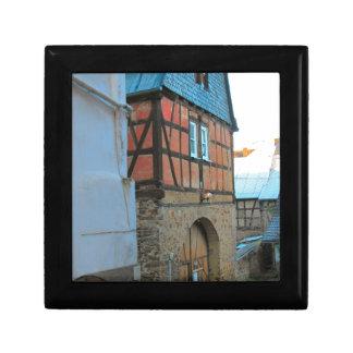 Alemania, Renania, Rhens, mitad enmaderó casas Cajas De Joyas